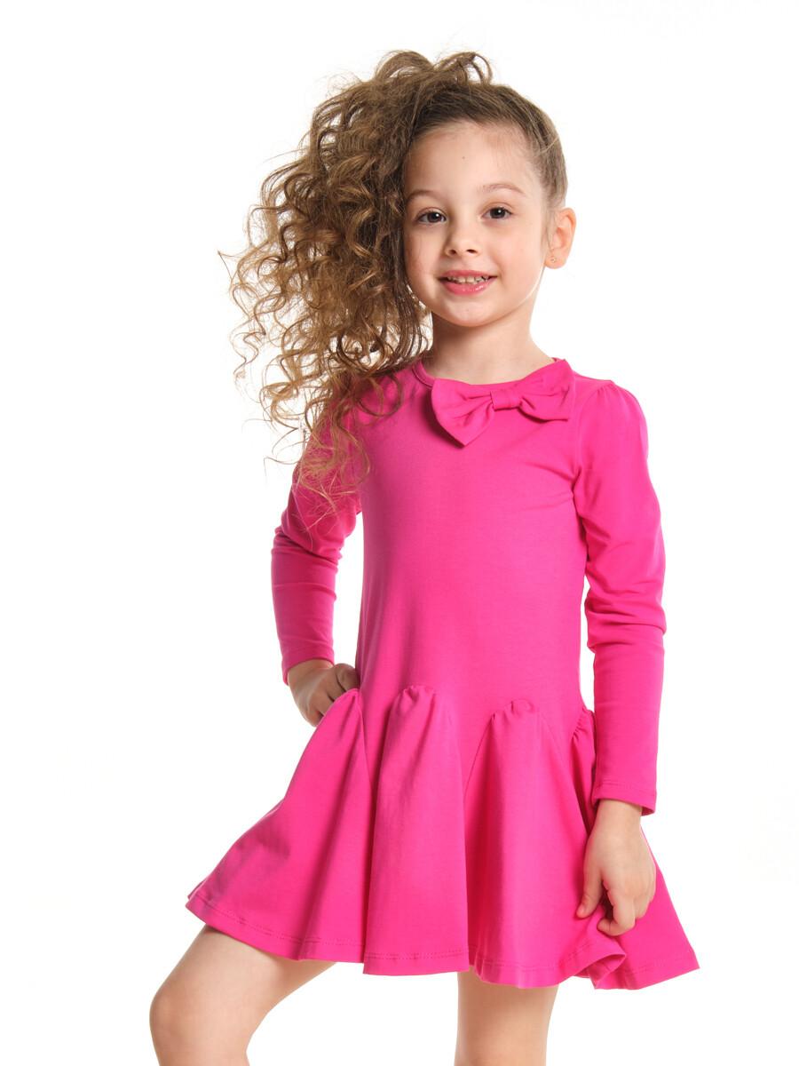 UD 0420(1)малина  Mini Maxi Платье с дл.рукавом (98-122см)