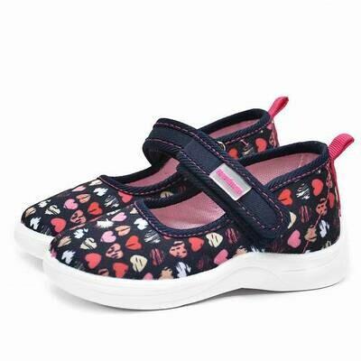 1-067-P04 Текстильные туфли Nordman Stars оптом, размеры 22-26