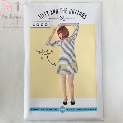 Coco Top and Dress Printed Sewing Pattern by Tilly and The Buttons
