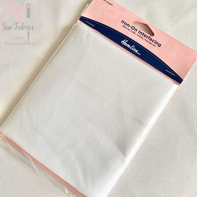Hemline Iron-on Interfacing, Medium weight - 1m x 1m