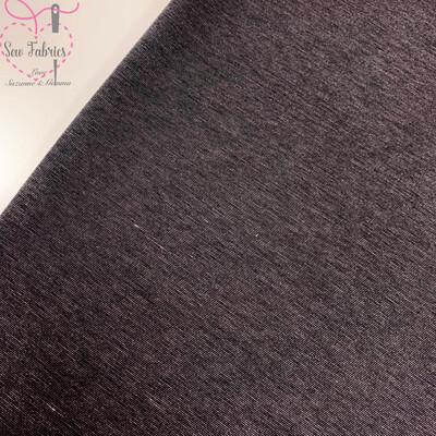 Grey Ponteroma Jersey Fabric, Solid Regular Ponteroma