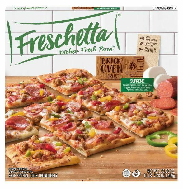 Frozen Pizza, Freschetta® Brick Oven® Supreme Pizza (23.28 oz Box)