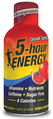 Energy Drink, 5 Hour Energy® Pomegranate, 1.93 oz (2 Bottles)