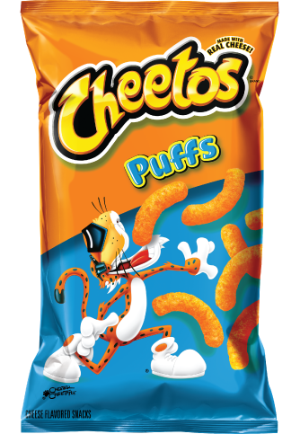 Snack, Frito-Lay® Cheetos® Puffs® (8 oz Bag)