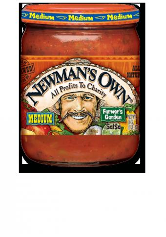 Salsa, Newman's Own® Medium Chunky Farmer's Garden Salsa (16 oz Jar)