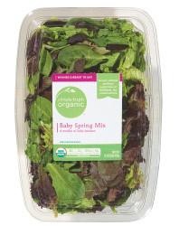 Fresh Salad Greens, Simple Truth Organic™ Salad Baby Spring Mix (5 oz Tray)