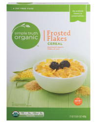 Cereal, Simple Truth™ Frosted Flakes Cereal (17 oz Box)
