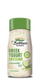Salad Dressing, Bolthouse Farms® Cucumber Dill Greek Yogurt, 12 oz Bottle