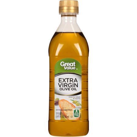 Olive Oil, Great Value® Extra Virgin Olive Oil (17 oz Bottle)
