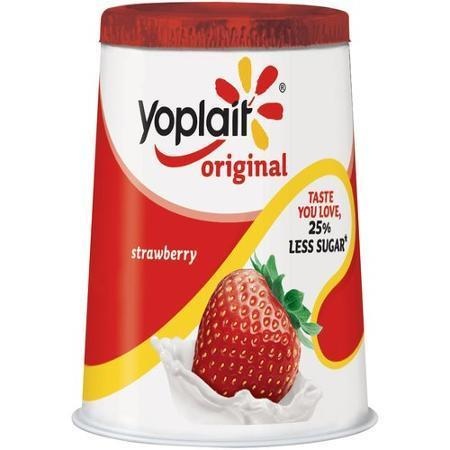 Yogurt, Yoplait® Original Strawberry Yogurt (6 oz Cup)