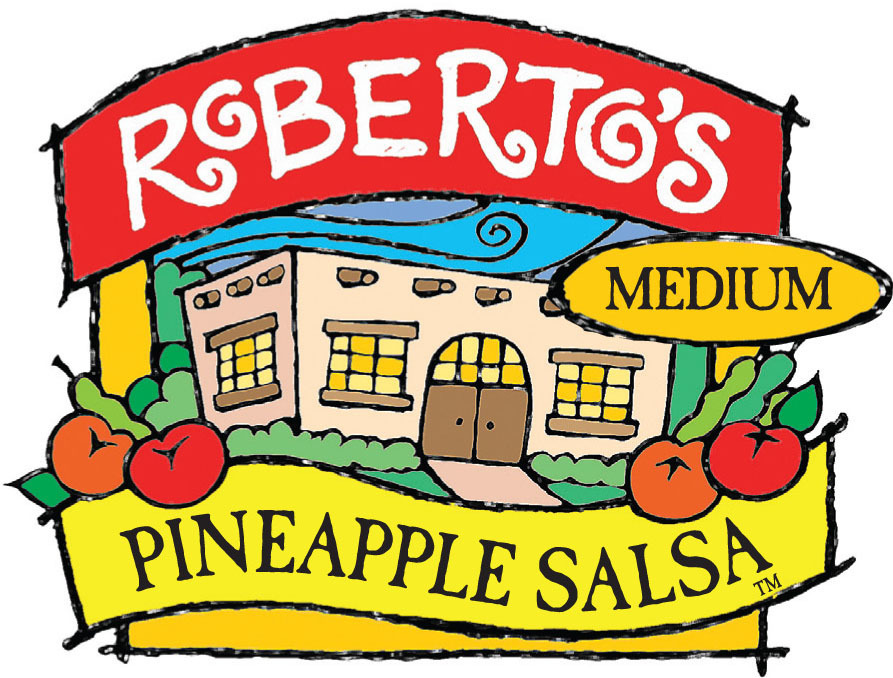 Salsa, Roberto's® Medium Pineapple Salsa (16 oz Jar)