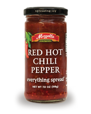 Spread, Mezzetta® Red Hot Chili Pepper, 6.5 oz Jar