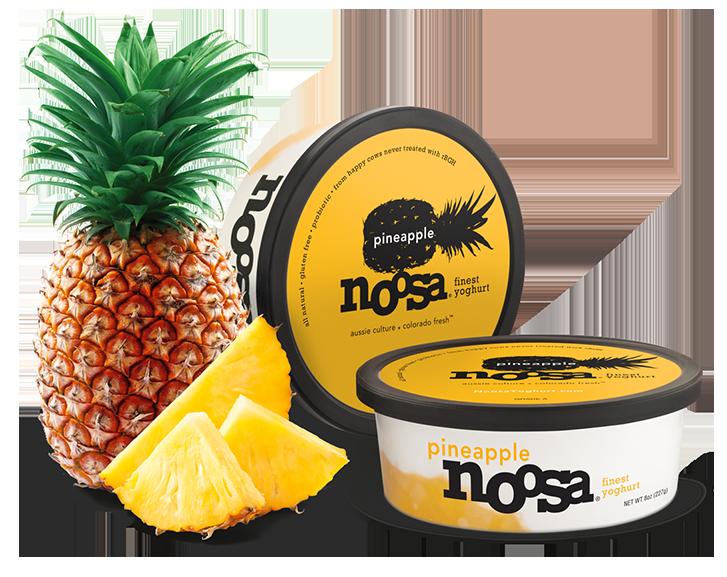 Yogurt, Noosa® Pineapple (8 oz Tub)