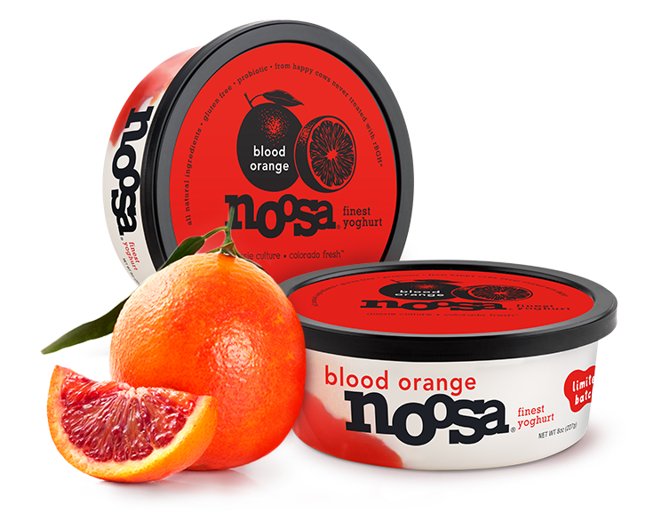 Yogurt, Noosa® Blood Orange (8 oz Tub)