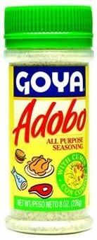 Seasonings, Goya® Adobo, Pepper Seasoning with Cumin, 8 oz Bottle