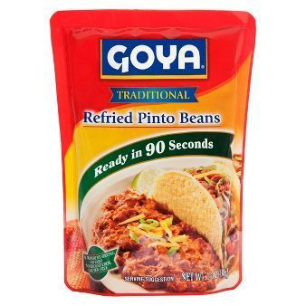 "Refried Pinto Beans, Goya® ""Traditional"" Refried Pinto Beans (16 oz Bag)"