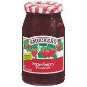 Fruit Spread, Smucker's® Strawberry Preserves (18 oz Jar)