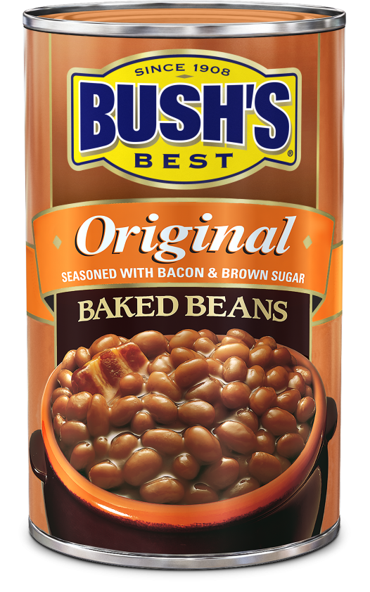 "Canned Beans, Bush's® ""Original"" Baked Beans (55 oz Can)"