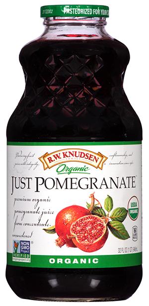 Juice Drink, R.W. Knudsen® Just Pomegranate™ Juice (32 oz Bottle)