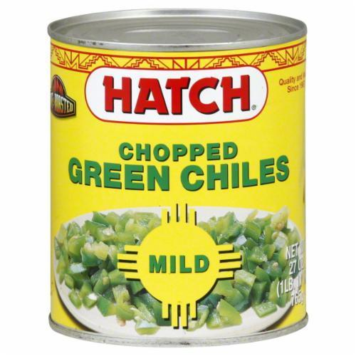 Green Chiles, Hatch® Mild  Chopped Green Chiles (27 oz Can)