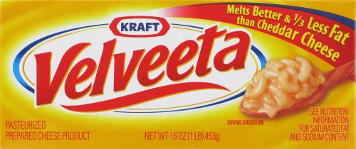 Cheese, Kraft® Velveeta® Original Cheese (16 oz Box)