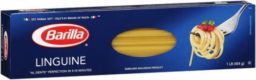 Pasta, Barilla® Linguine Pasta (16 oz Box)