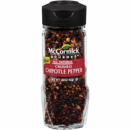 Seasonings, McCormick Gourmet® Crushed Chipotle Pepper (1.5 oz Jar)