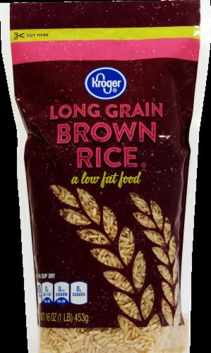 Rice, Kroger® Long Grain Brown Rice (16 oz Bag)