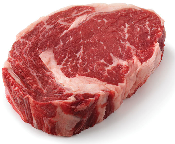 Meat, Boneless Beef Rib Eye Steak (16 oz Steak)