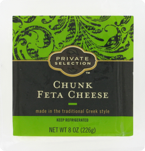Cheese Block, Private Selection® Chunk Feta Cheese (8 oz Tray)