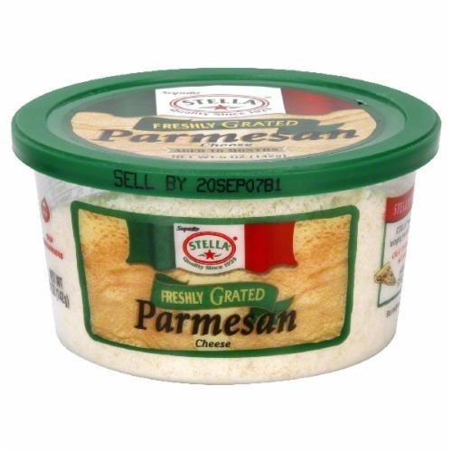 Grated Cheese, Stella® Grated Parmesan Cheese (5 oz Tub)