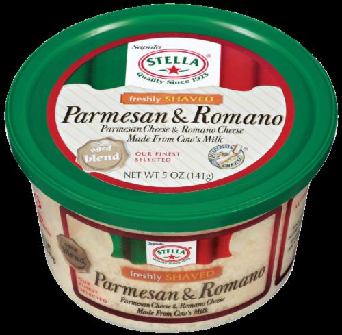 Shaved Cheese, Stella® Shaved Parmesan Romano Cheese (5 oz Tub)