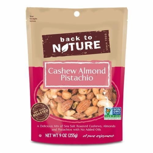 Trail Mix, Back To Nature® Cashew Almond Pistachio Mix (9 oz  Bag)