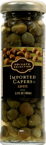 Preserved Capers, Private Selection® Capote Capers (3.5 oz Jar)