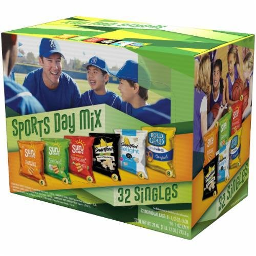 """Lunch Size Chips, Frito-Lay® """"2Go Sports Day Mix"""" (32 Bag Count, 26 oz Box)"""