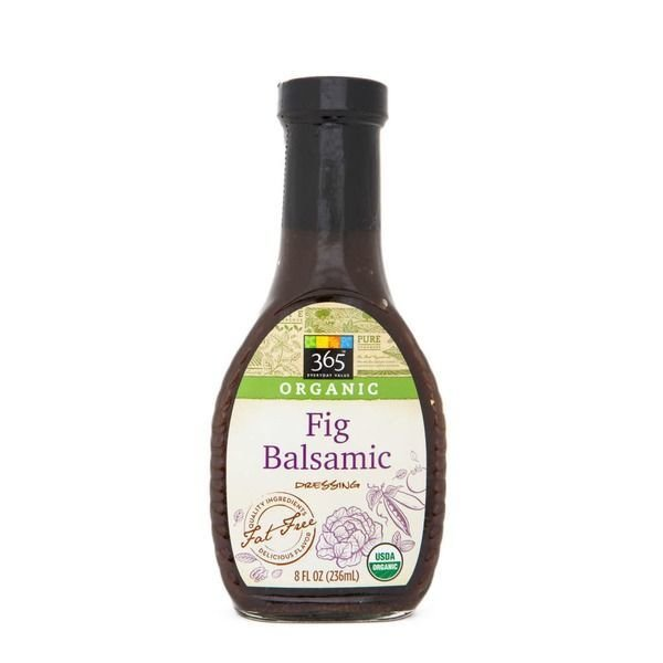 Organic Salad Dressing, 365® Organic Fig Balsamic Dressing (8 oz Bottle)