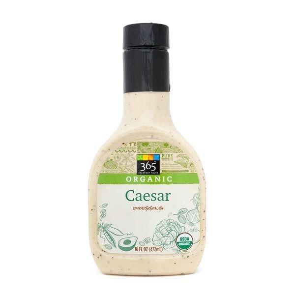 Organic Salad Dressing, 365® Organic Caesar Dressing (16 oz Bottle)