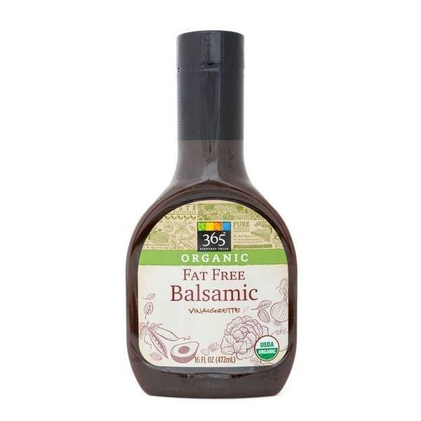 Organic Salad Dressing, 365® Organic Fat Free Balsamic Vinaigrette (16 oz Bottle)