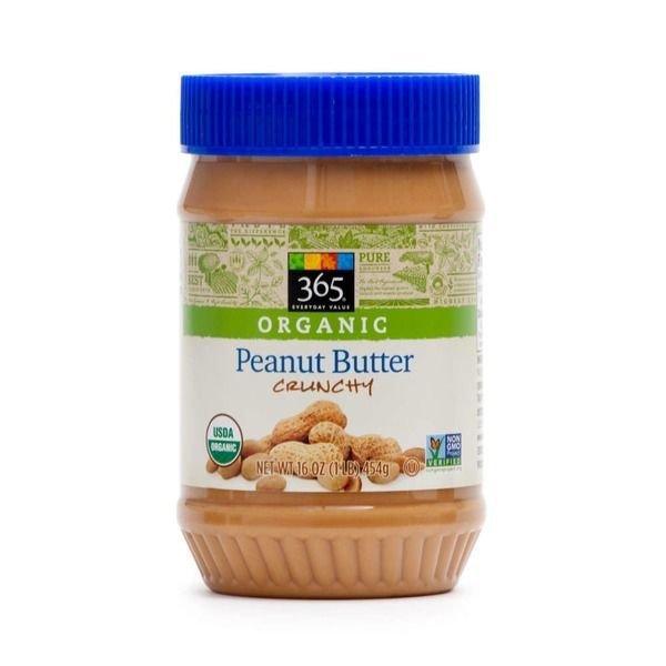 Organic Peanut Butter, 365® Organic Crunchy Peanut Butter (16 oz Jar)