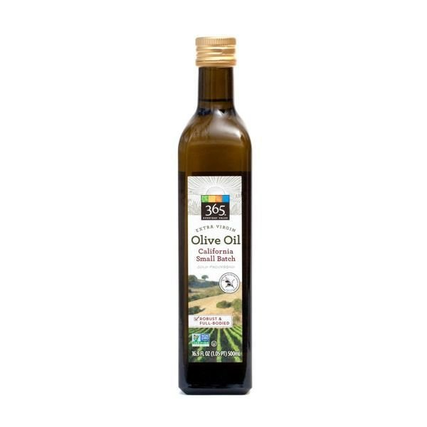 Cooking Oil, 365® California Small Batch Extra Virgin Olive Oil (16.9 oz Bottle)