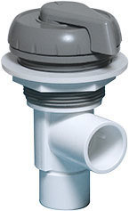 "Waterway Valves Notched ¾"" Socket x ¾"" Socket Deluxe 180° Shut Off Valves"