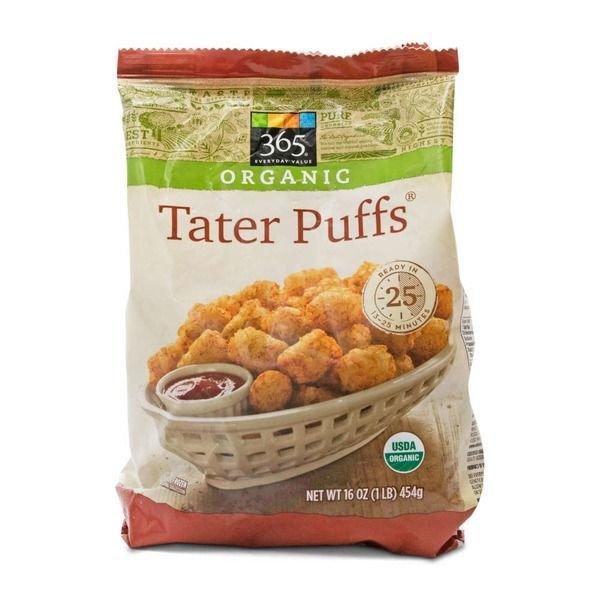 "Frozen Potatoes, 365® Organic ""Tater Puffs"" French Fries (16 oz Bag)"