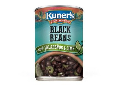 Canned Beans, Kuner's® No Salt