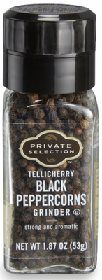 Seasonings, Private Selection® Whole Black Pepper Grinder (1.87 oz Jar)