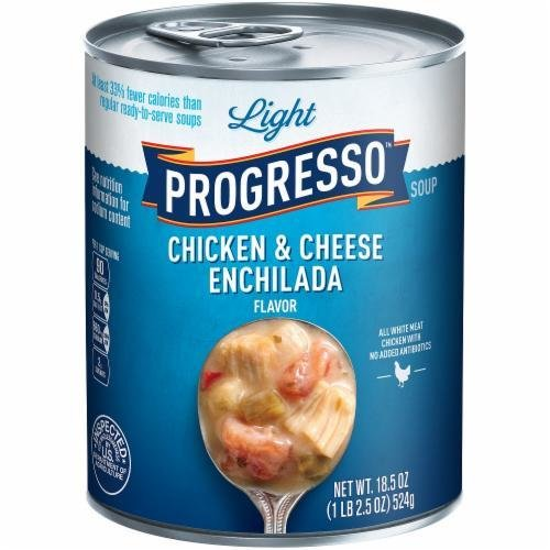 Canned Soup, Progresso® Light® Chicken & Cheese Enchilada Soup (18.5 oz Can)
