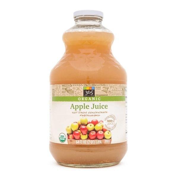 Juice Drink, 365® Organic Apple Juice (64 oz Bottle)