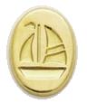 Wax Envelope Seal | 826-H Sailboat