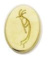 Wax Envelope Seal   825-H Kokopeli