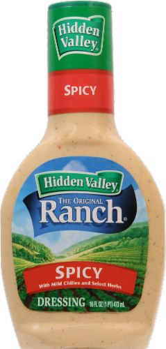 Salad Dressing, Hidden Valley Ranch® Spicy Ranch (16 oz Bottle)
