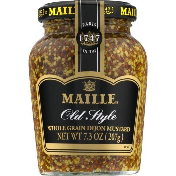 Mustard, Maille® Old Style Whole Grain Dijon Mustard (7.3 oz Jar)